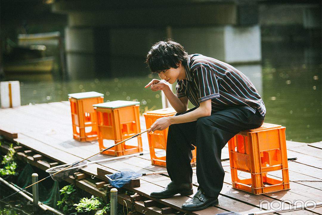 鈴木仁とボートに乗って、2人きりの優しい時間♡【連載「今月の彼氏」ウェブ限定版】_1_1-3
