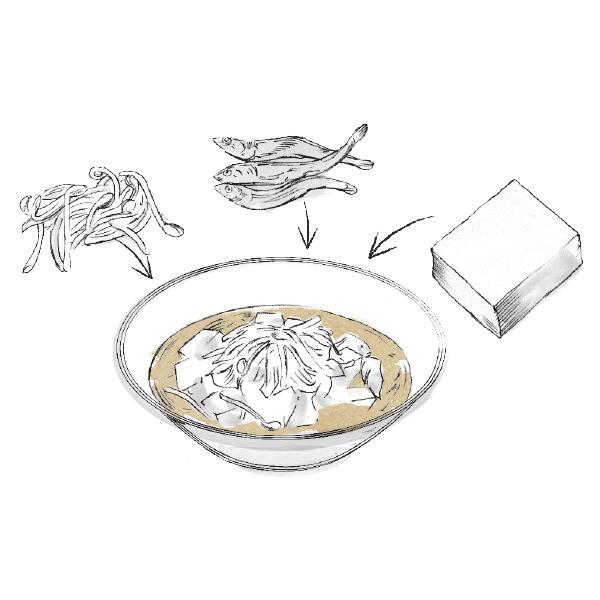 """血糖値を上げずにタンパク質と食物繊維がとれる! 理想の""""第1食目""""レシピ【血糖値コントロール・対策編】_1_1-4"""