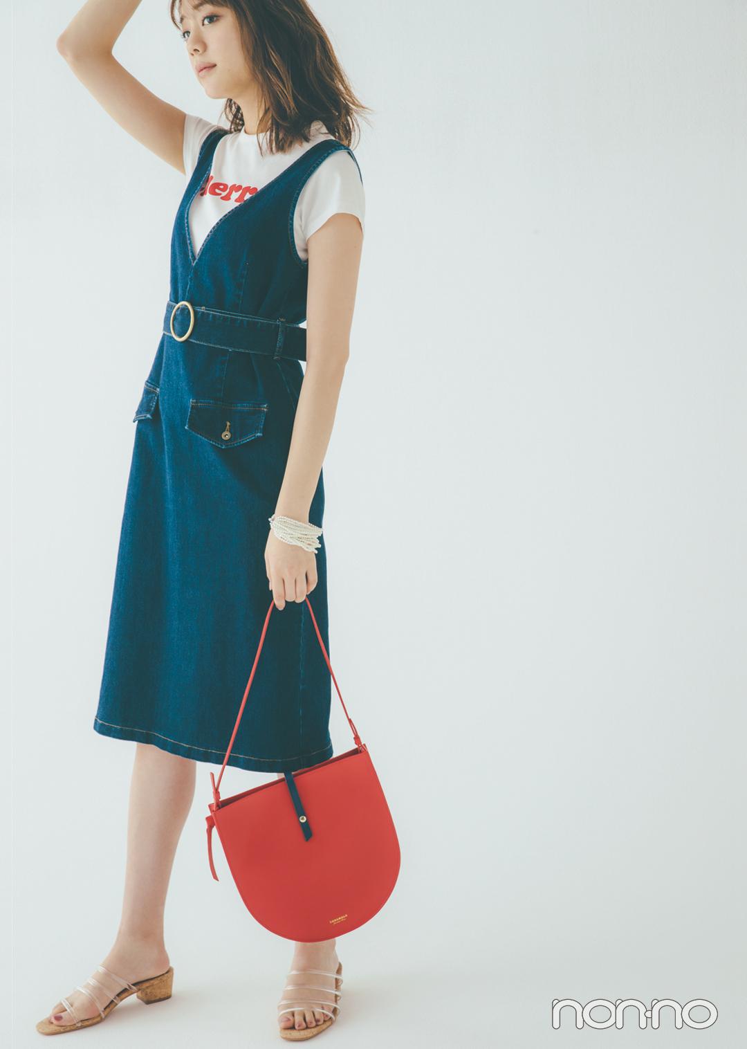 貴島明日香の赤×白×ネイビーがお手本! 好感度&おしゃれ感どっちも♡  _1_3-1