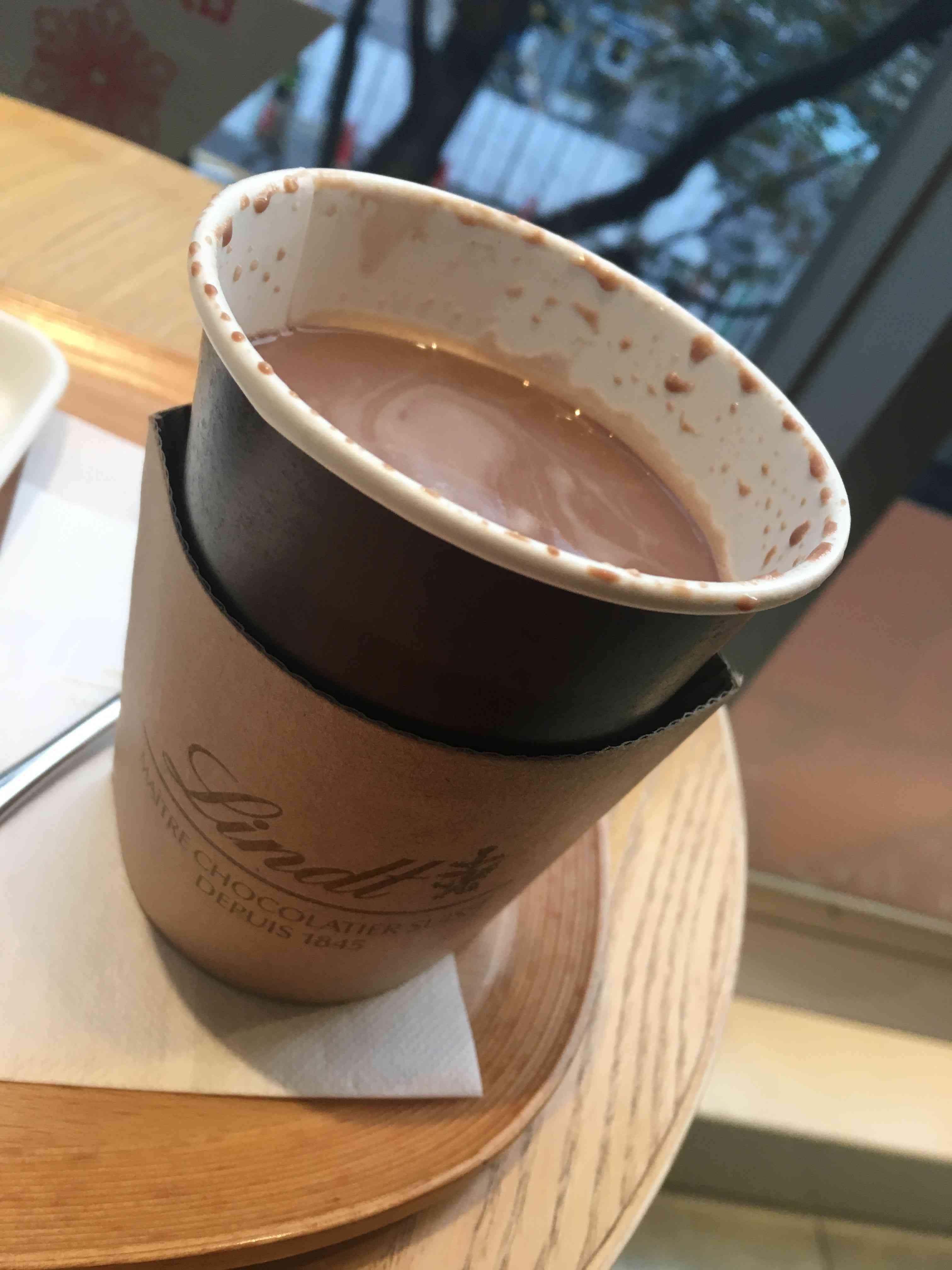 リンツの期間限定ホットチョコレートドリンク♡抹茶_1_3