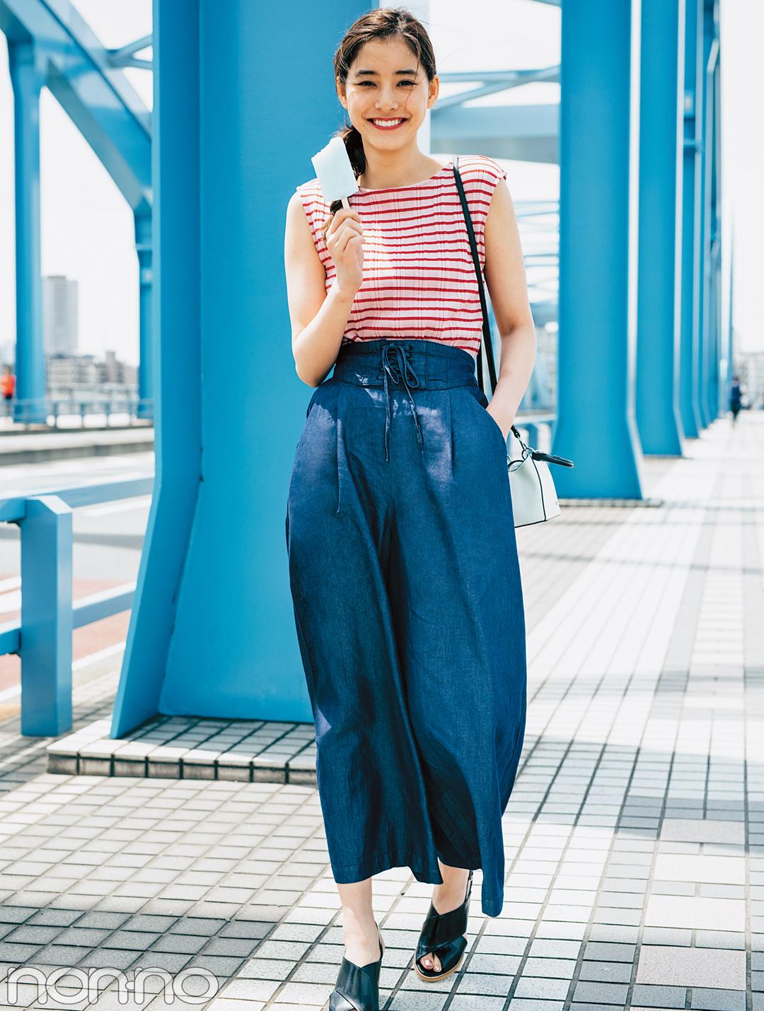 スタイルUPポイントつき★ワイドデニムの大人気コーデ夏Ver.3選_1_4