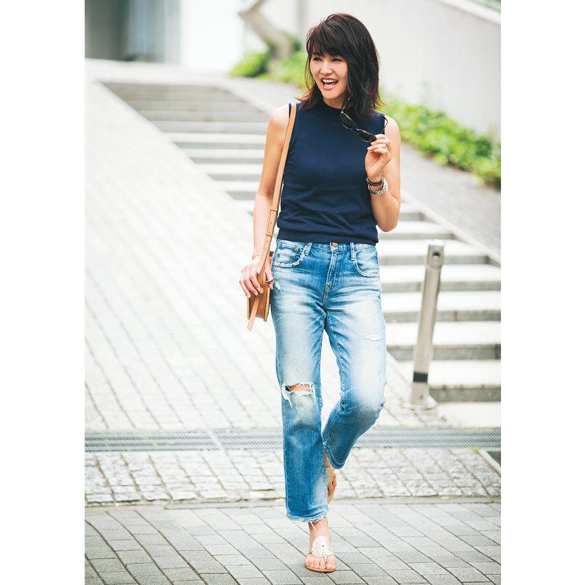 きちんと投資&こまめに更新!夏のデニムコーデ【美女組ファッションSNAP】_1_1-4