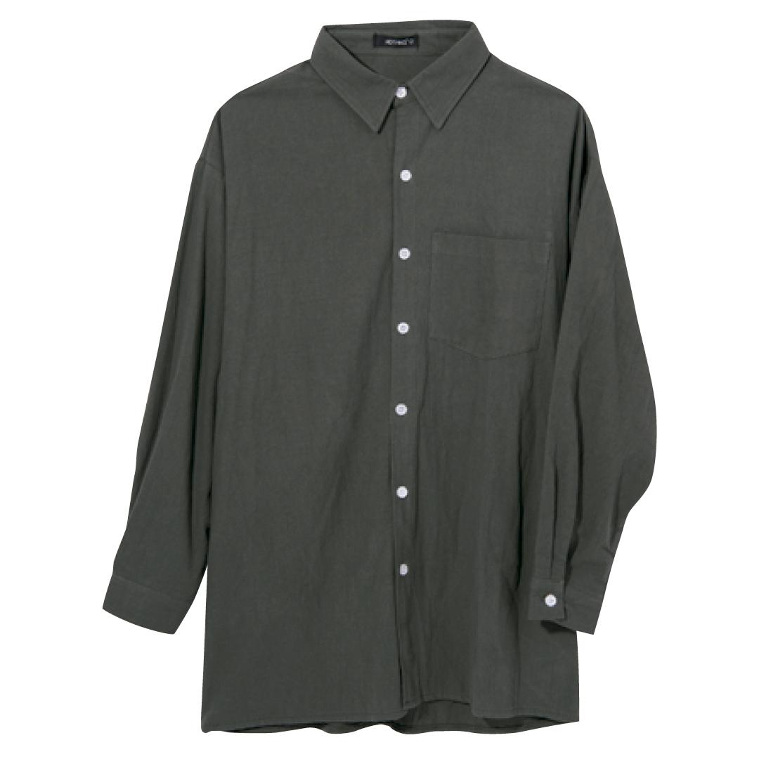韓国ファッション初心者必見! ビッグシャツをおしゃれにはおるには?_1_2-3