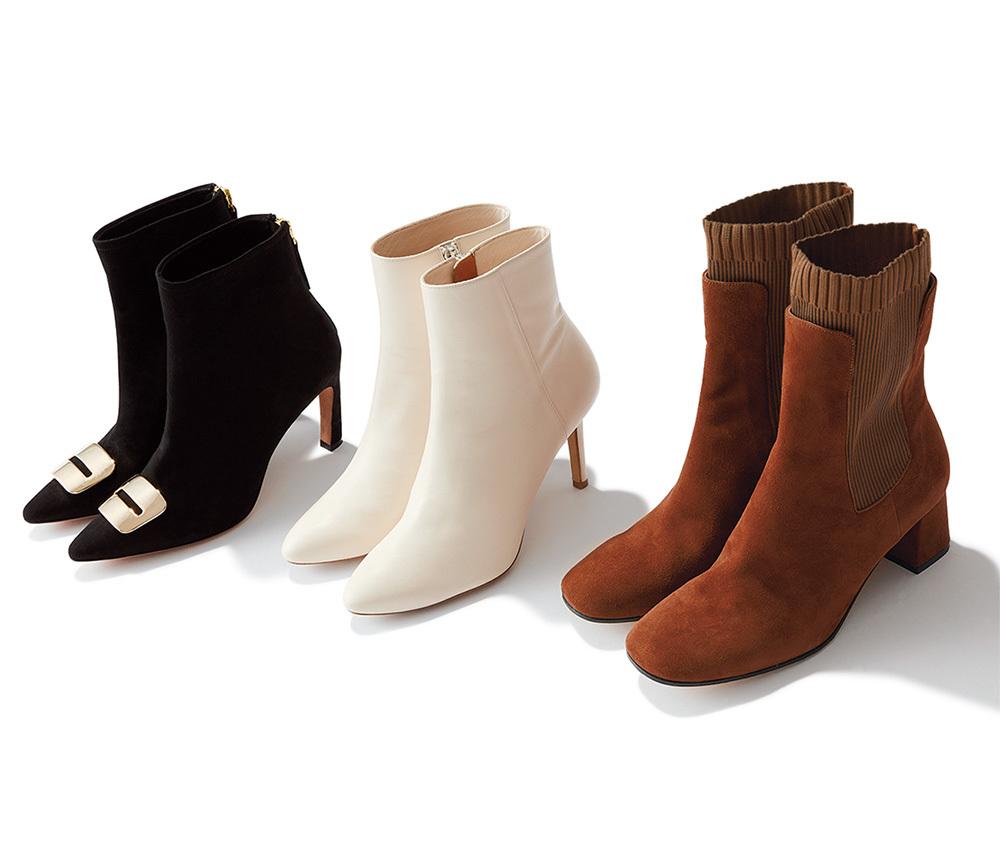 秋トレンド 靴 ブーツ