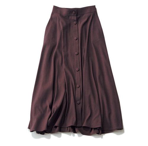 今年注目の色「ブラウン」!スカートを着回して実力を検証!_1_1