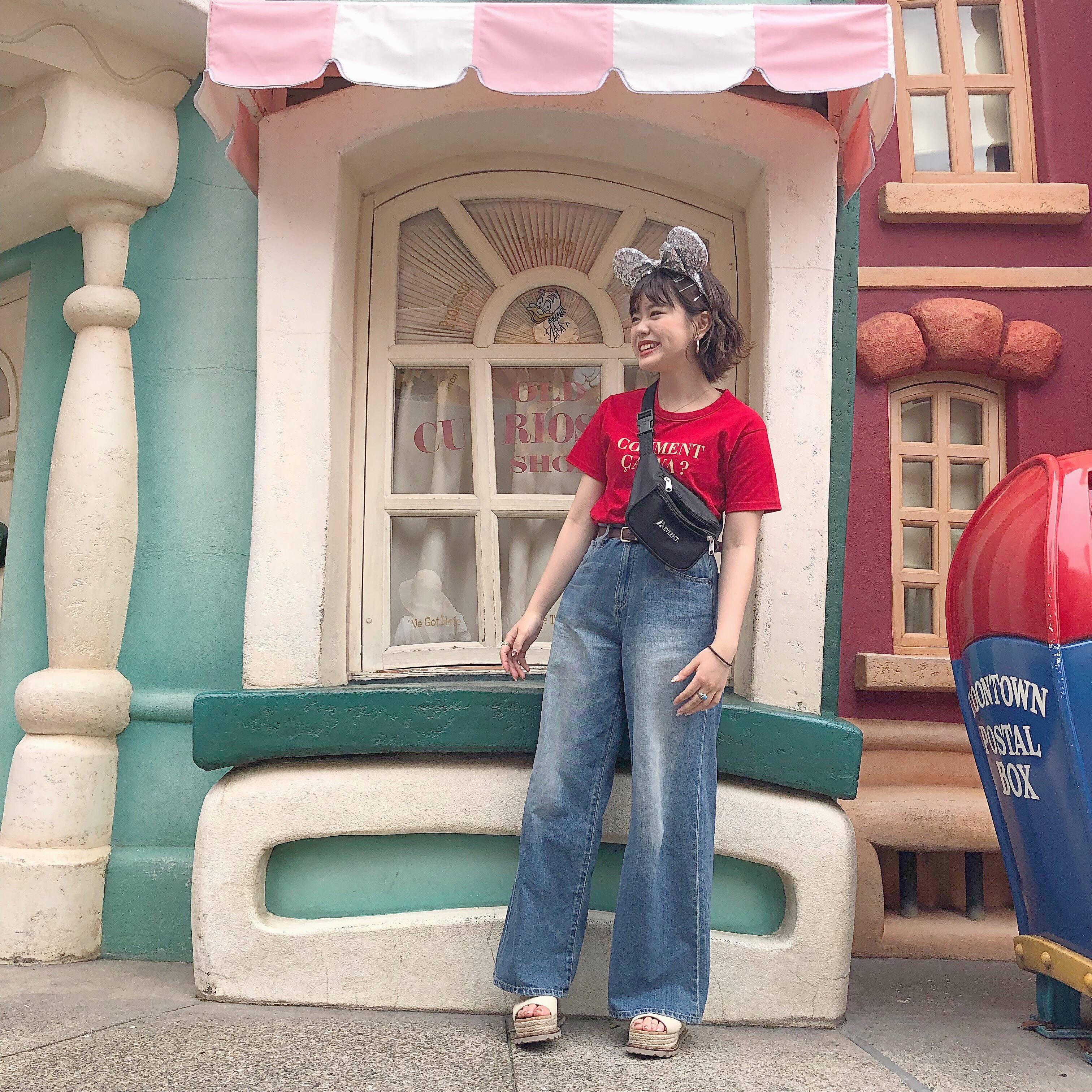 ディズニー!映えスポットと私服◎_1_3