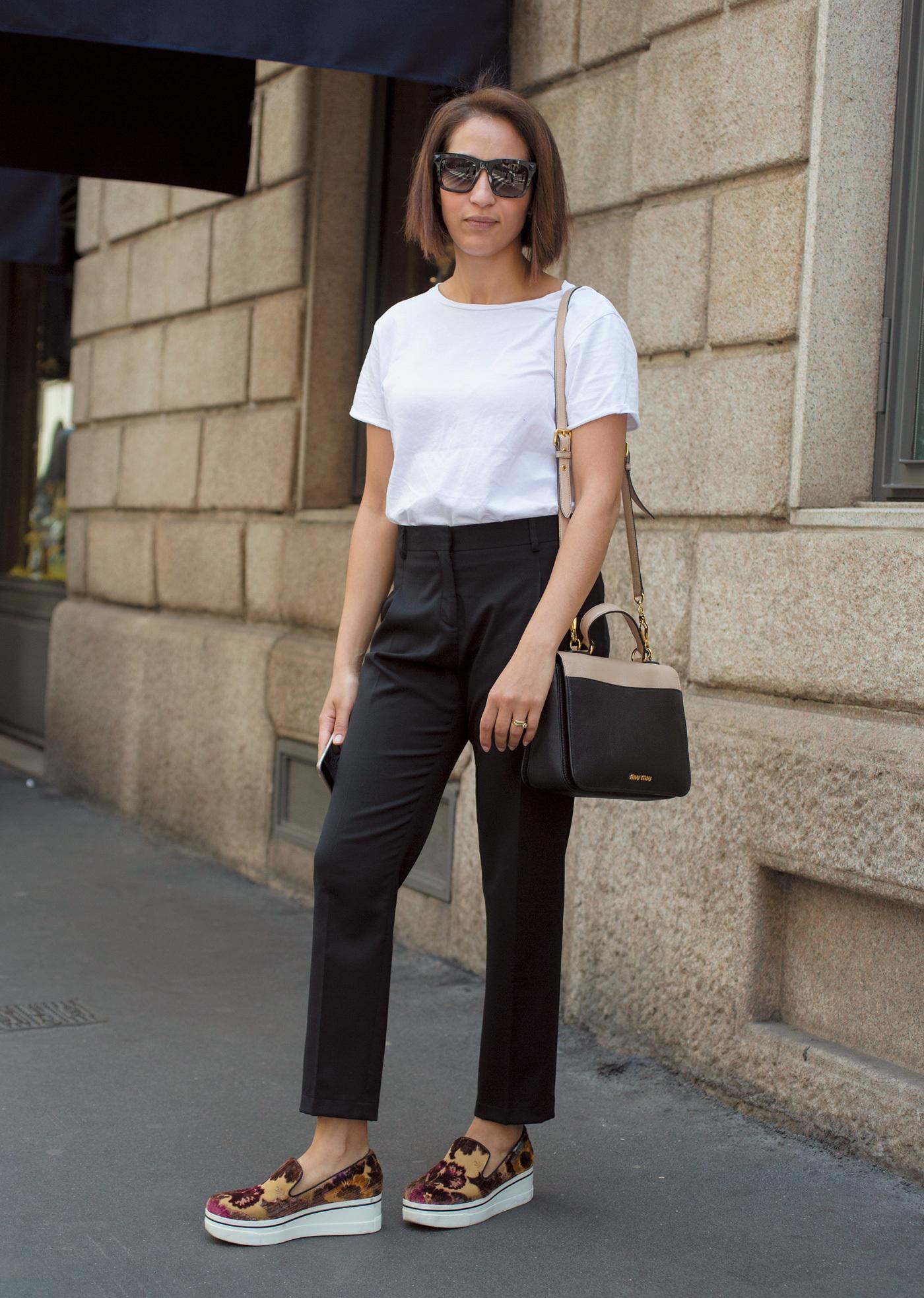 ミラノもパリも「やっぱり白Tシャツが好き!」【ファッションSNAP ミラノ・パリ編】_1_1