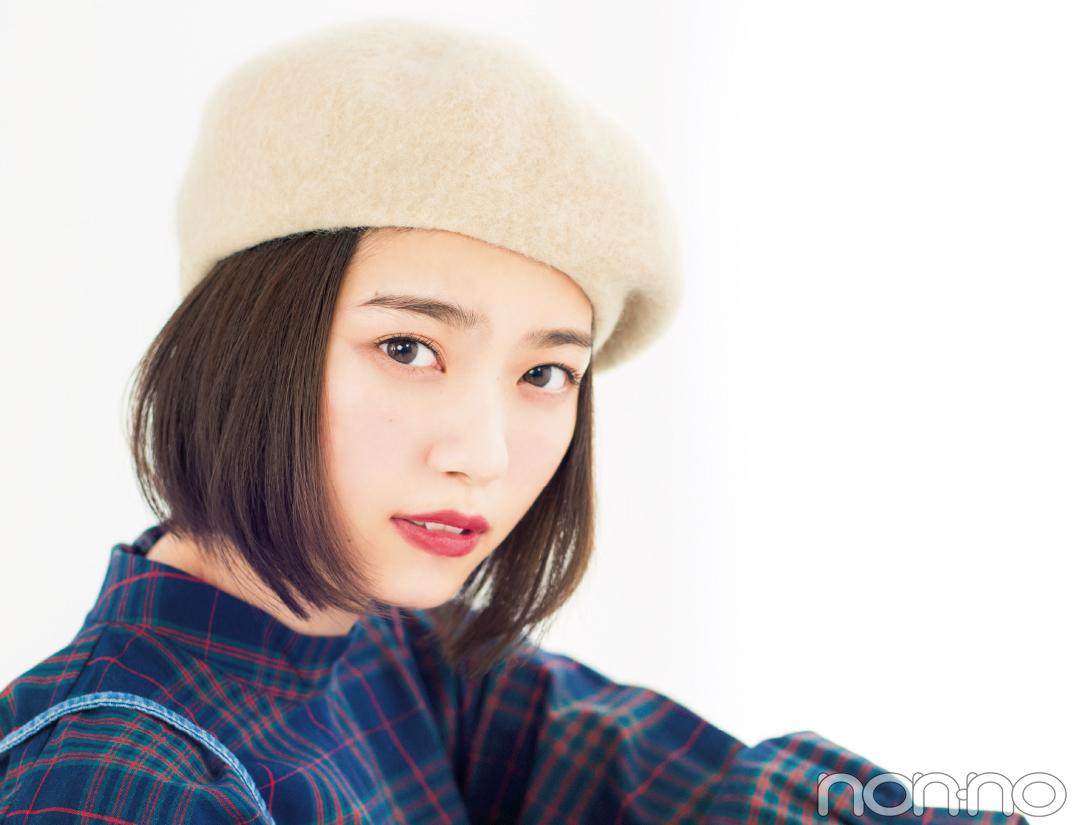 七瀬ボブのヘアアレンジ♡ ベレー帽でおしゃれ度アップ!_1_1