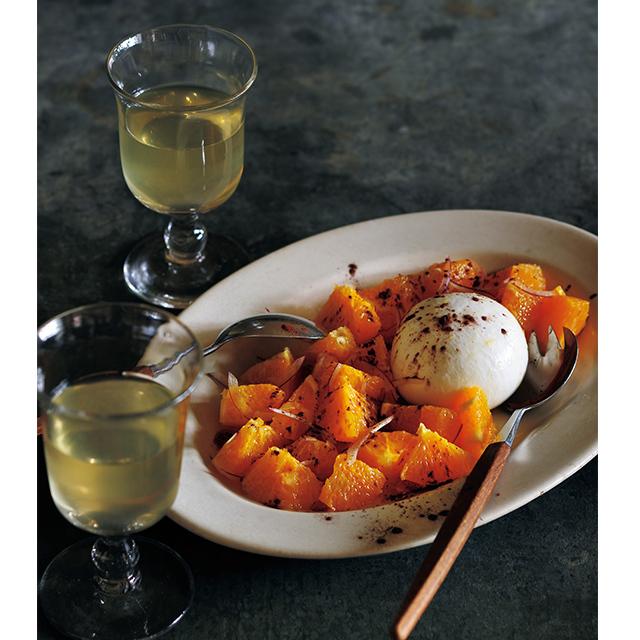 <冬こそチーズでおもてなし>ブッラータとオレンジのサラダのレシピ_1_2