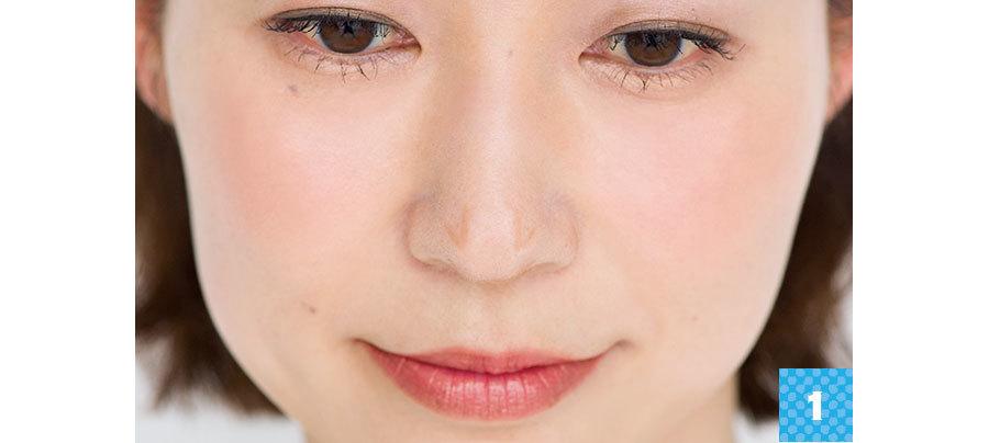 美鼻を作るカモフラメイク1_2