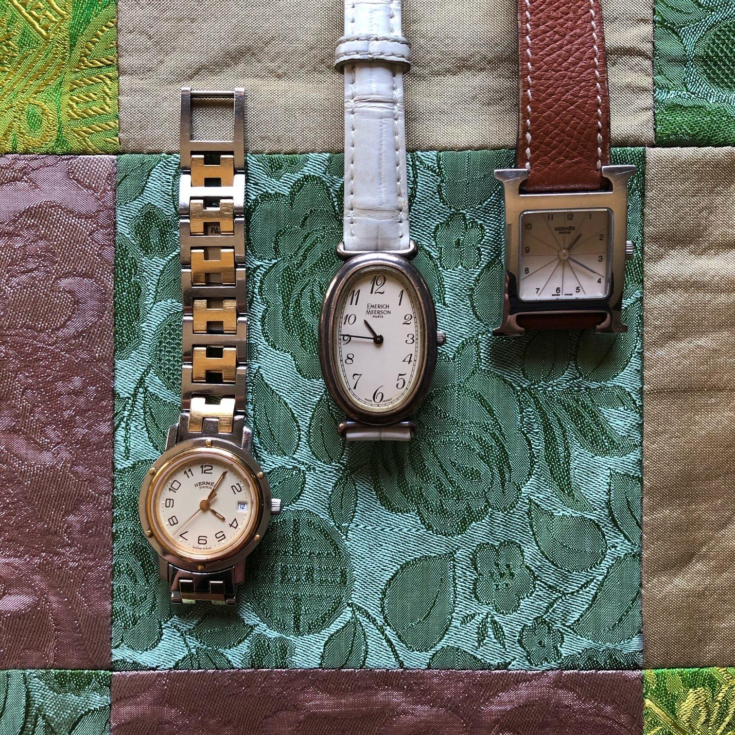 腕時計 エルメス、エメリック・メールソン