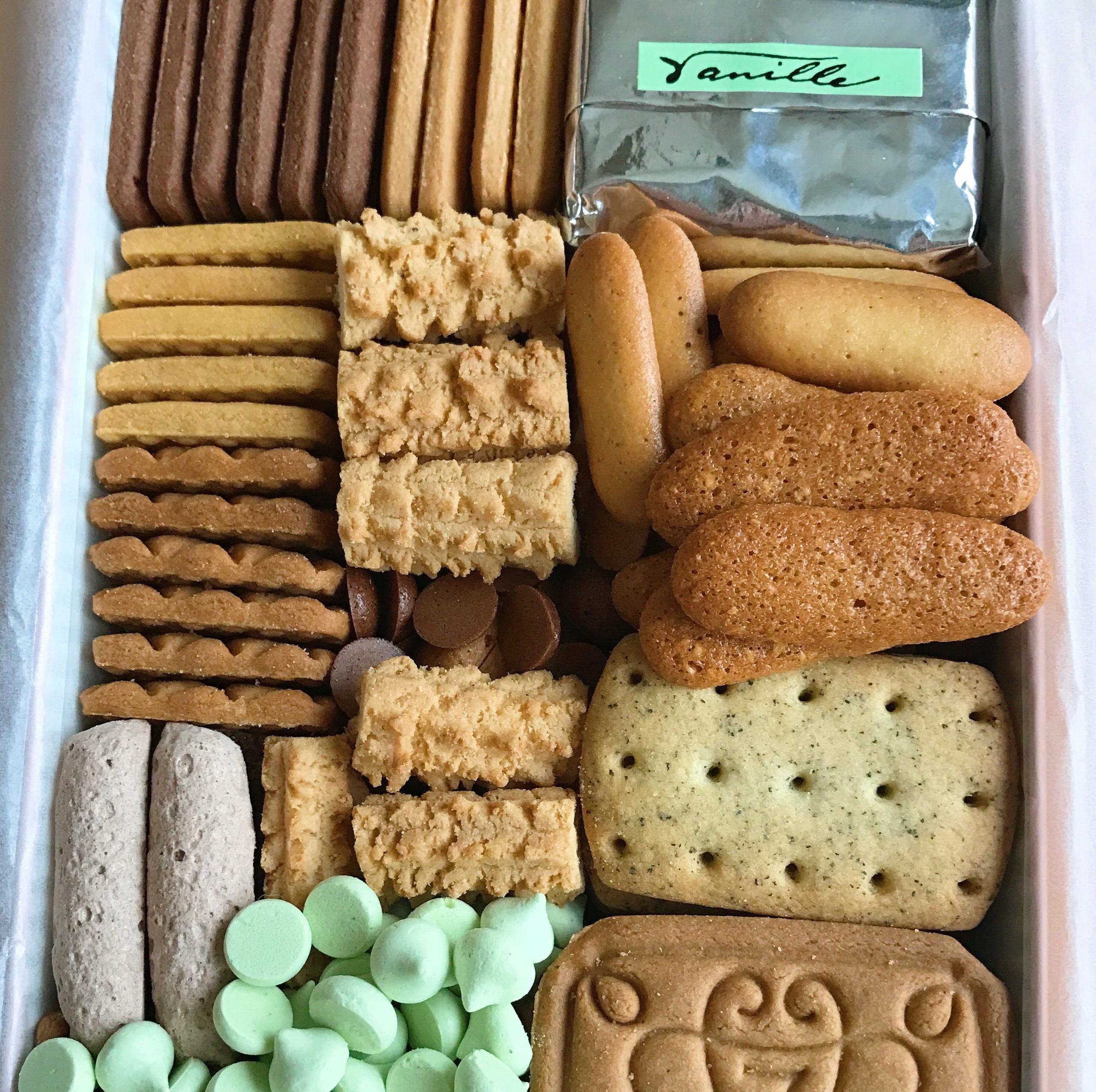 堂 クッキー 開進