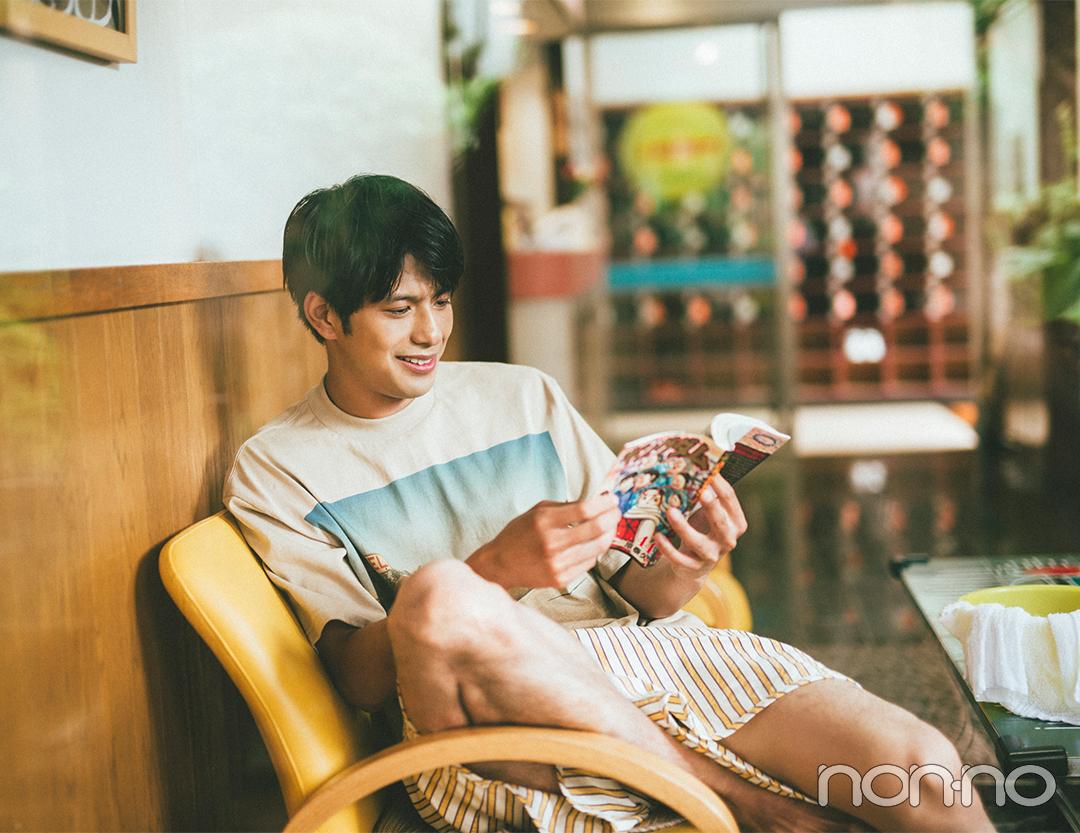 non-no 2020年10月号掲載『今月の彼氏。』 森崎ウィン