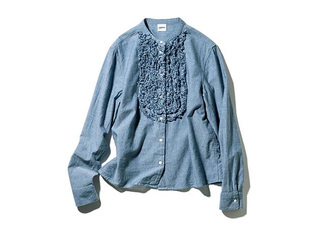2.シャンブレーシャツ