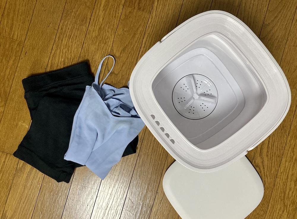 マスク、吸水ショーツなどの小分け洗いが楽になる「折りたためる洗濯機」を導入してみた!【エディターMMの気になる○○やってみました!#14】_1_9