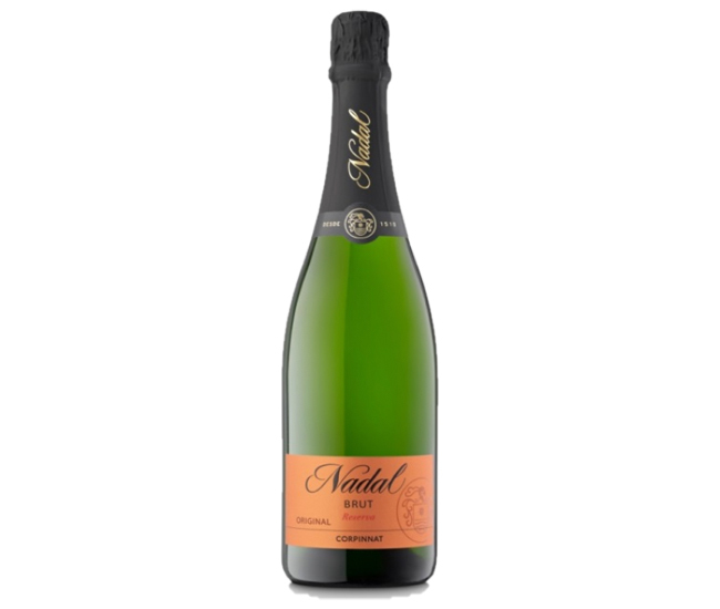 スパークリングワイン ナダル ブリュット レゼルヴァ オリジナル 750ml 3,000円
