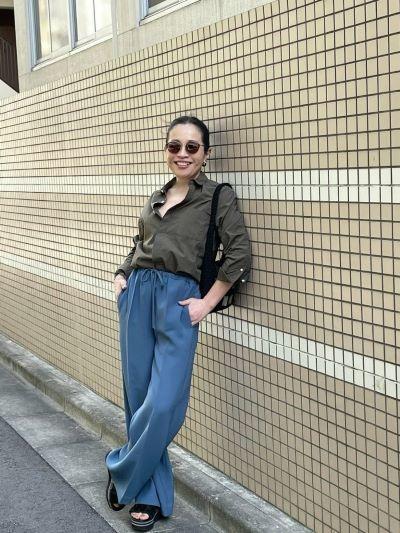 宮崎桃代×Drawing Numbers ボーイズテイストシャツ ¥27,500