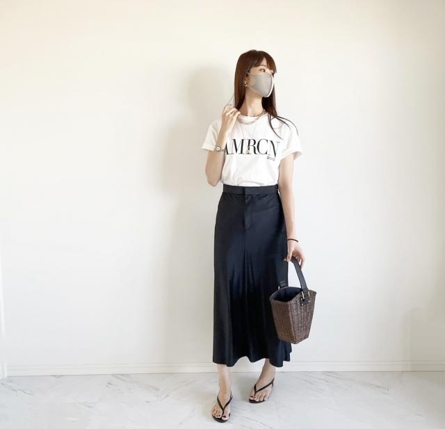 ZARA 黒スカート