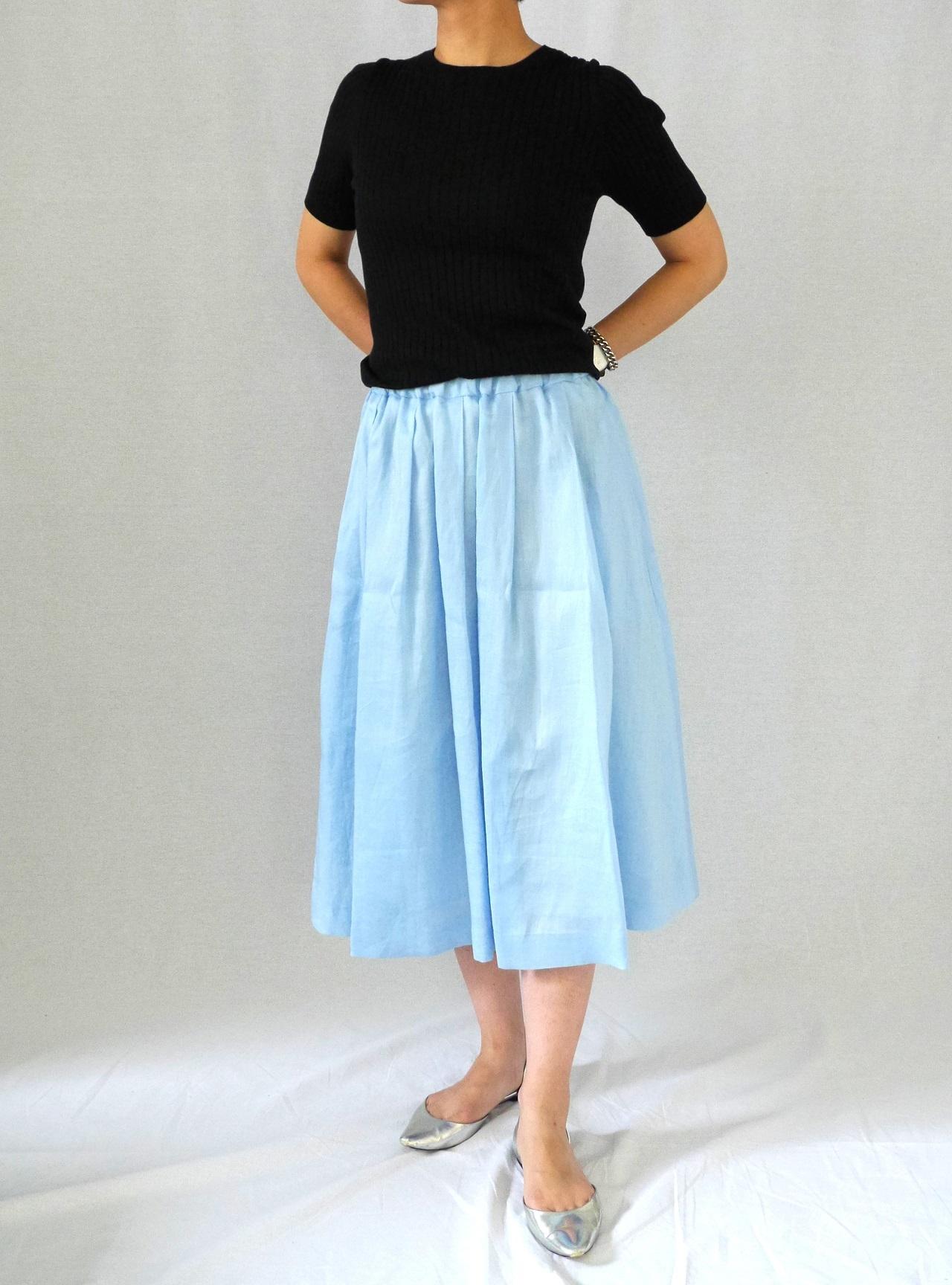 【SHOP Marisol】売れ売れが止まらない!「SACRA」のギャザースカート_1_2