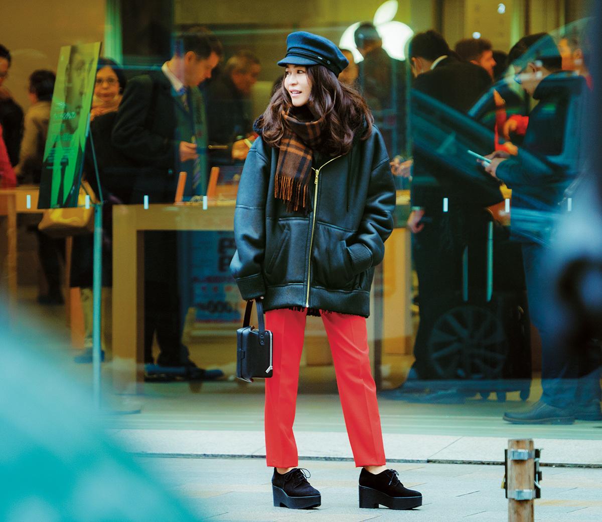 スタイリスト辻 直子さんの着こなしの幅を広げる3枚のコート_1_3