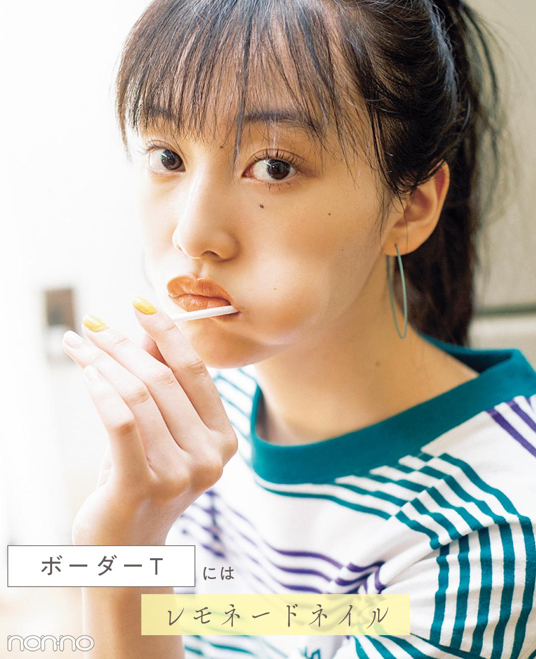 【ネイル2019夏】Tシャツのタイプで変える♡ 今っぽおしゃネイル7選!_1_4