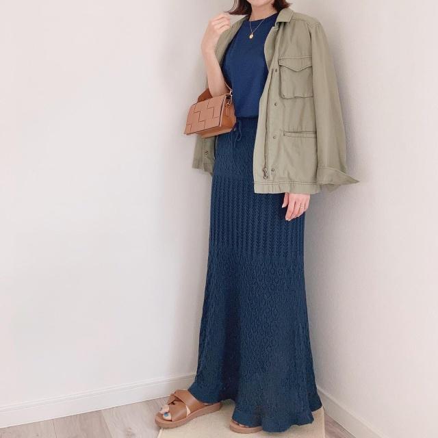 アラフォーのハーフパンツコーデ【momoko_fashion】_1_5-2
