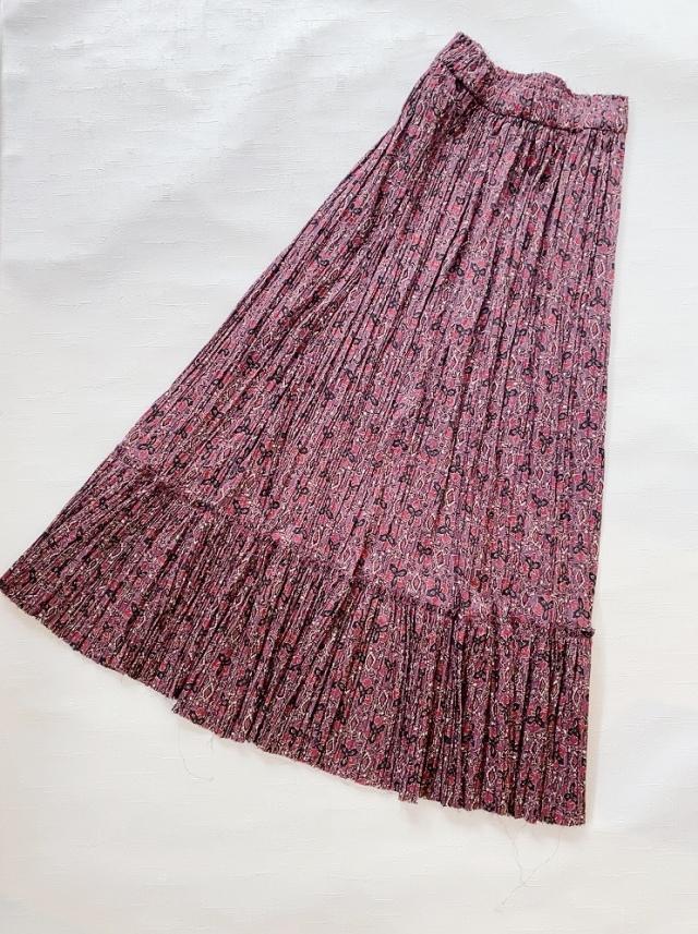 【セール戦利品①】ZARAのプリントスカート_1_4
