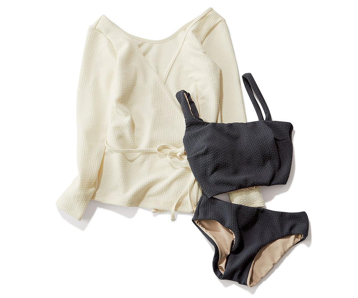 大人に似合う水着5選 | ワンピースや長袖の形に注目! | アラフォーファッション_1_1