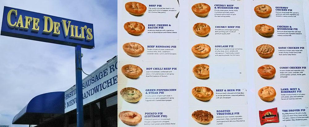 オーストラリアの食事と言ったら、ミートパイ!と肉とポテトと揚げ物。_1_1
