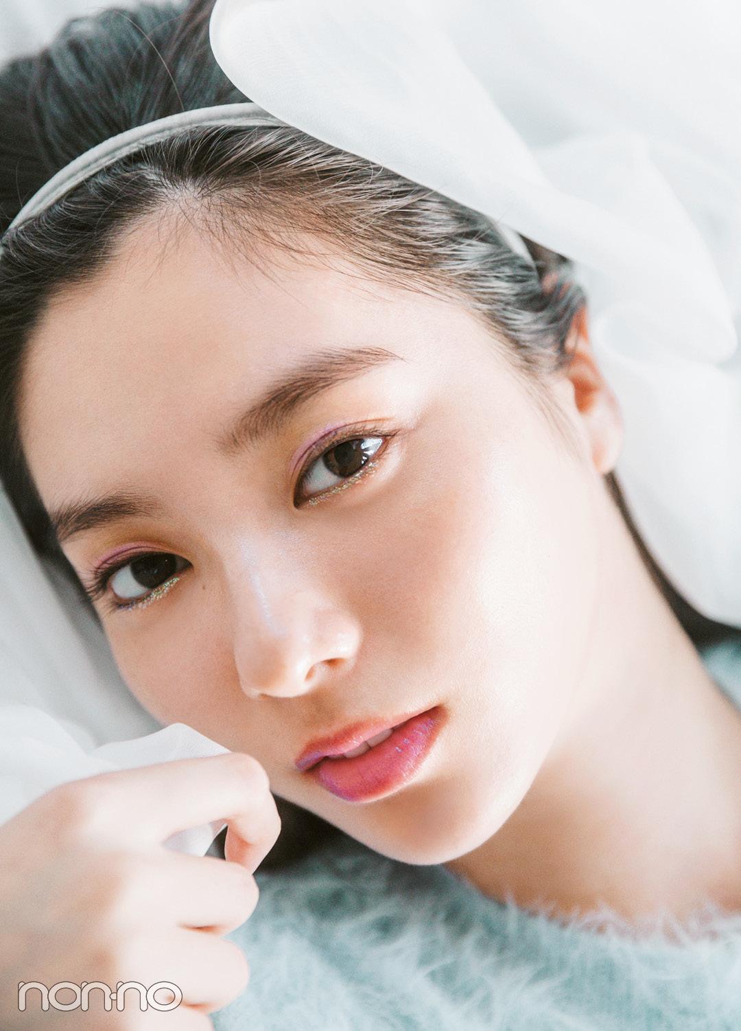 新川優愛のコスパでトレンドメイク♡ ジュエルなラベンダーはこう使う!_1_1