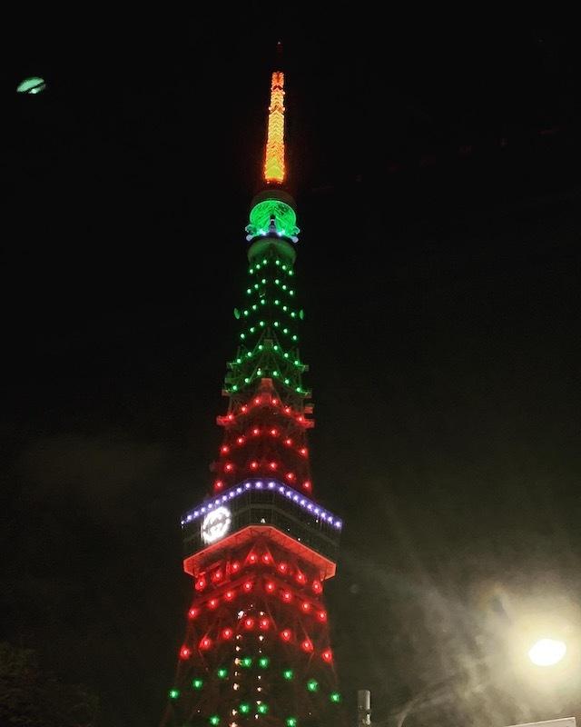 東京タワー イルミネーション GUCCI グッチ
