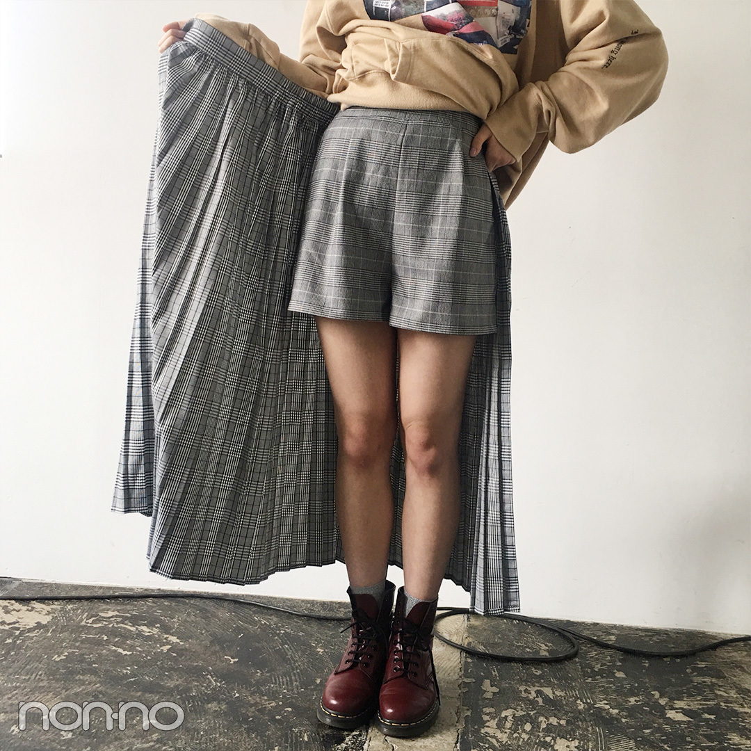山田愛奈の5月コーデはジュエティ&チェリーレッドのドクターマーチン【モデルの私服スナップ】_1_2-1
