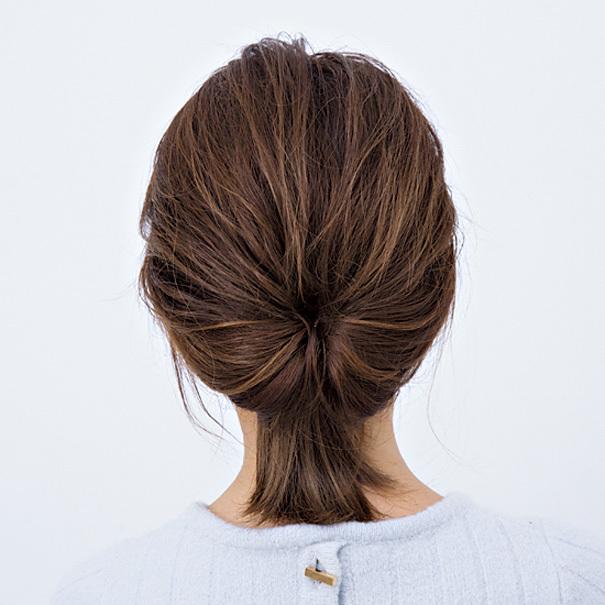 毛先とゆるさが大人可愛い! ボブヘアの「くるりんぱ」アレンジ【40代のヘアアレンジ】_1_3