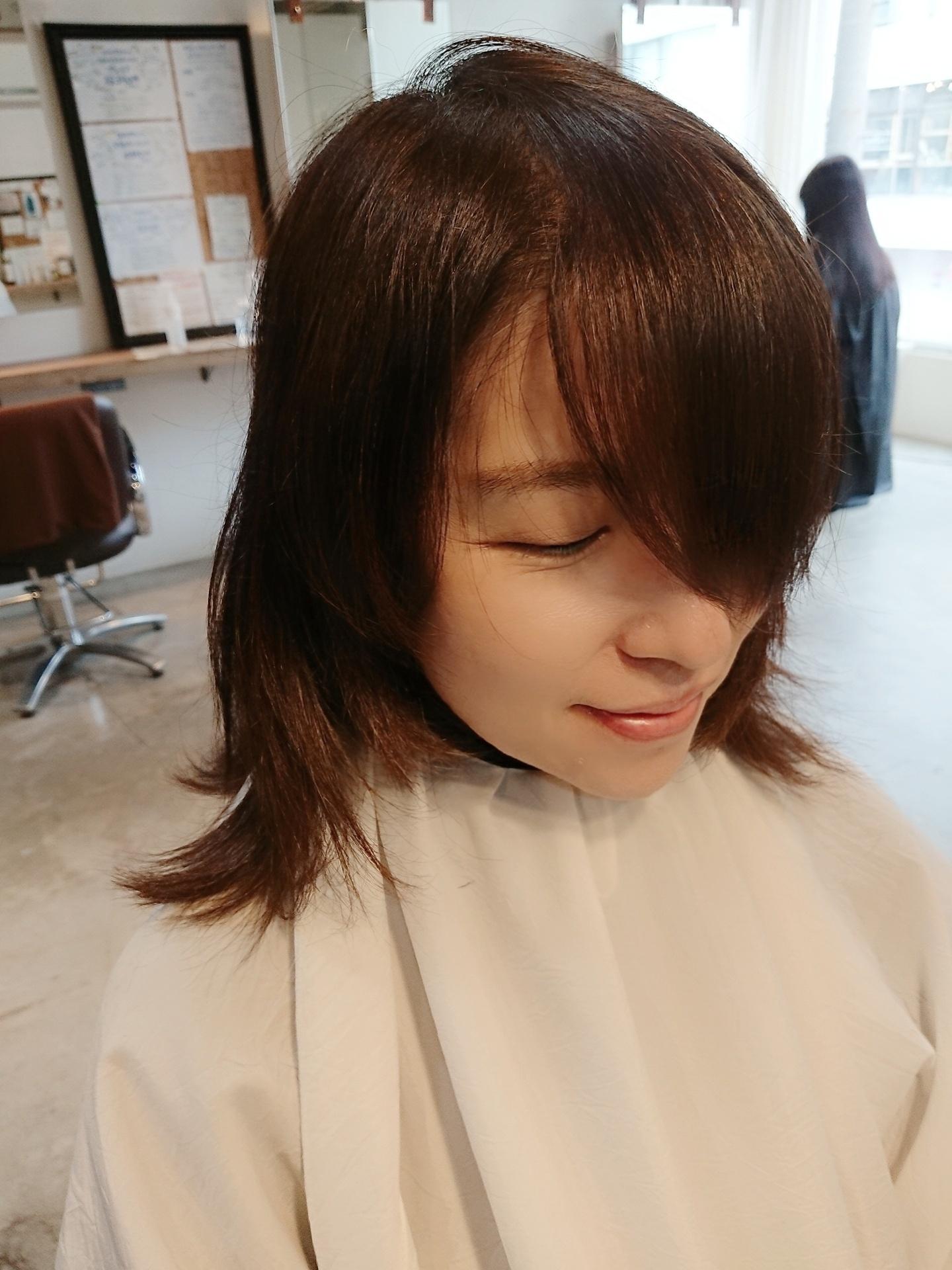 髪質改善出来てきた元気な髪をどうやってスタイリングする?を美容師さんに相談