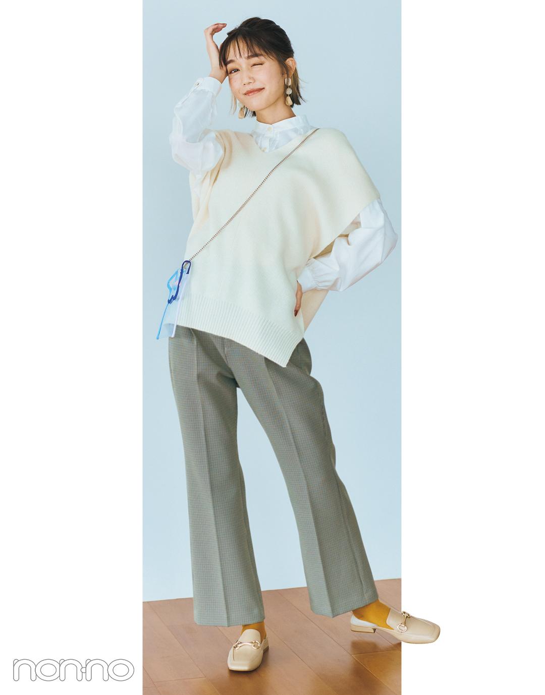 松川菜々花のはきたい靴から考える、本日のコーデ。モデルカット3−5
