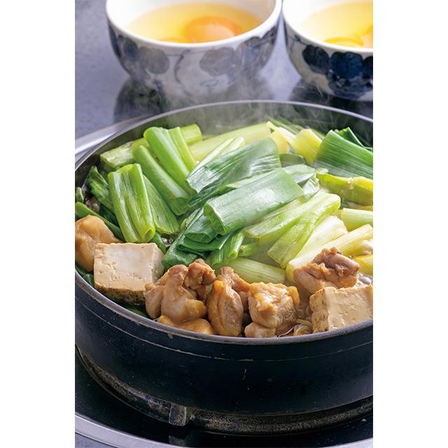 京の鶏すき焼き