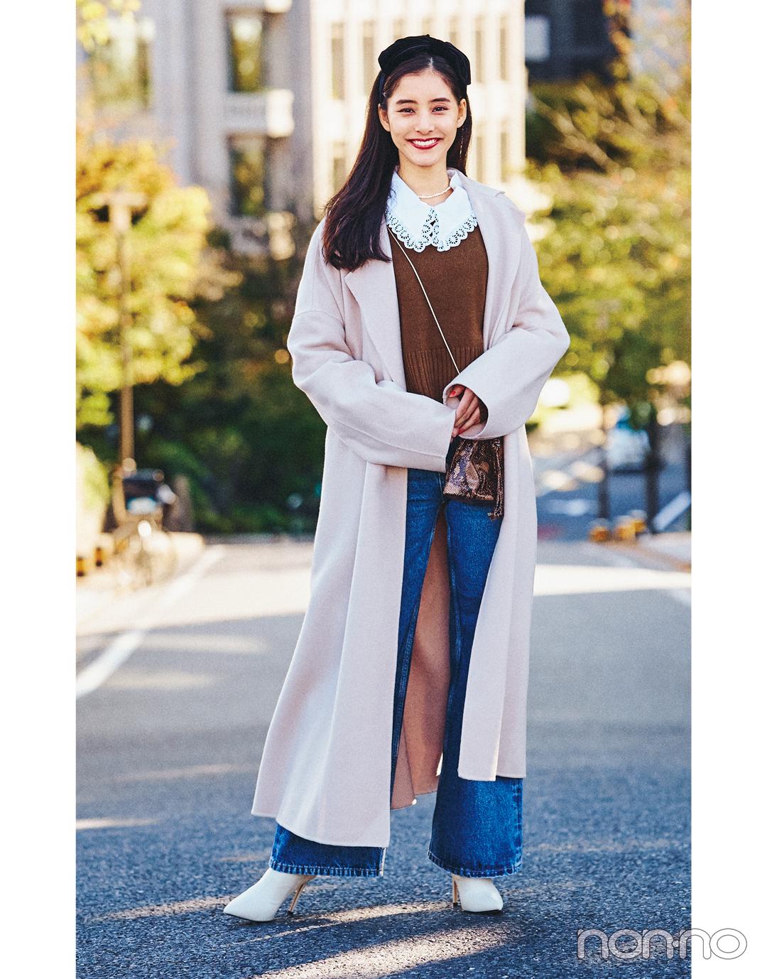 新木優子の冬私服♡ 今すぐマネしたい! ZARAなどお気に入りブランドで最新コーデを披露_1_3