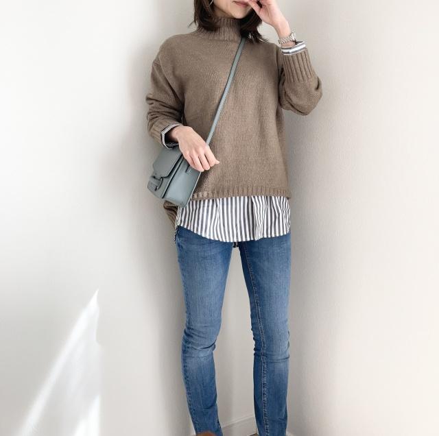 初めてのUNIQLOメンズシャツ♡【momoko_fashion】_1_1-2