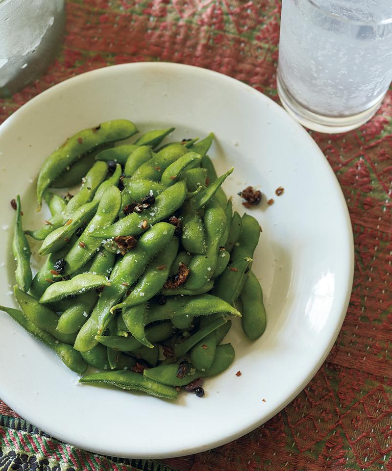 枝豆のジュニパーベリー風味