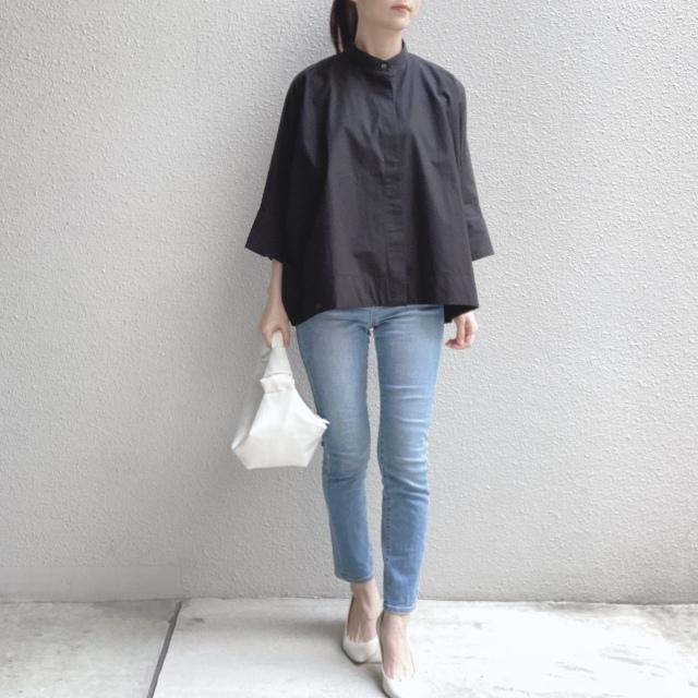 【ユニクロ+J】春夏のおすすめシャツで上下UNIQLOコーデ_1_3-1