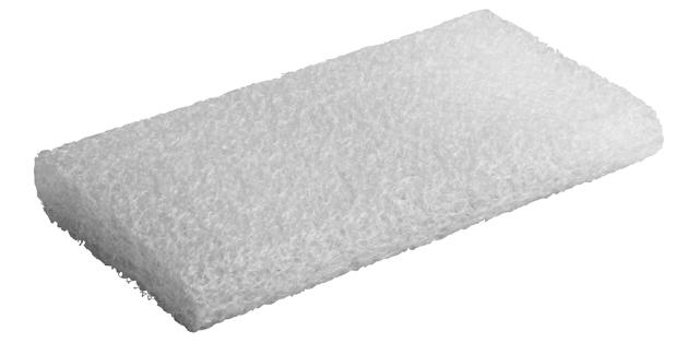 独自の立体ループ素材で、水洗いができリサイクルも可能