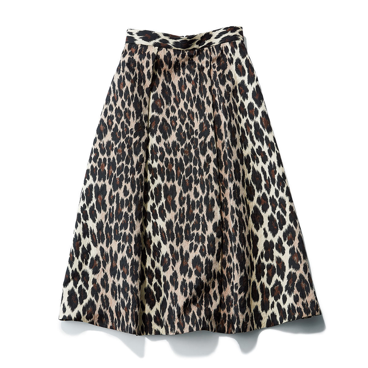 エストネーションのレオパード柄スカート