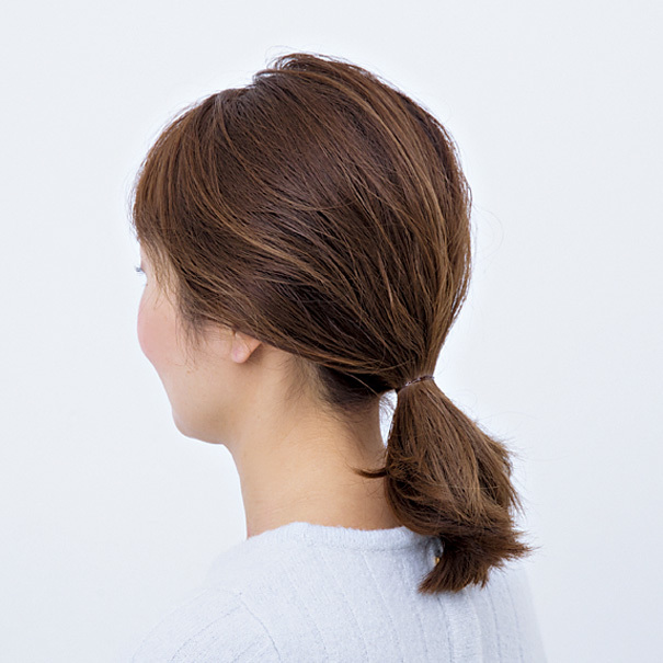 毛先とゆるさが大人可愛い! ボブヘアの「くるりんぱ」アレンジ【40代のヘアアレンジ】_1_2