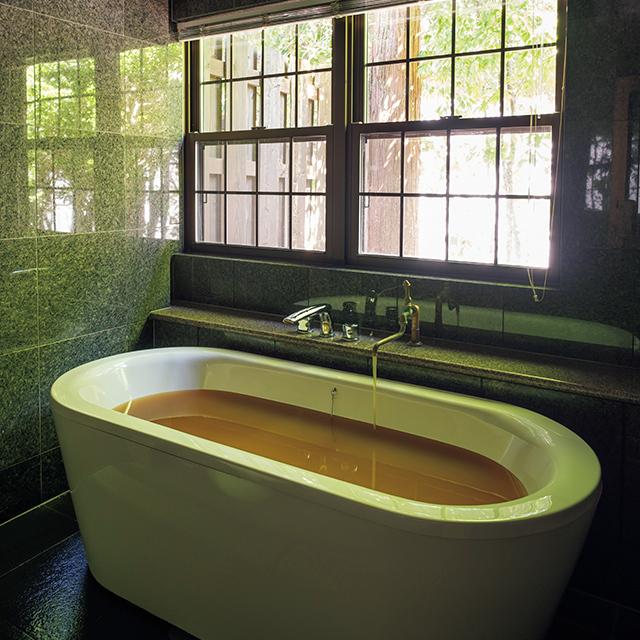 春から客室5室の浴室にも温泉を引き、部屋でも心ゆくまで有馬の湯につかれる