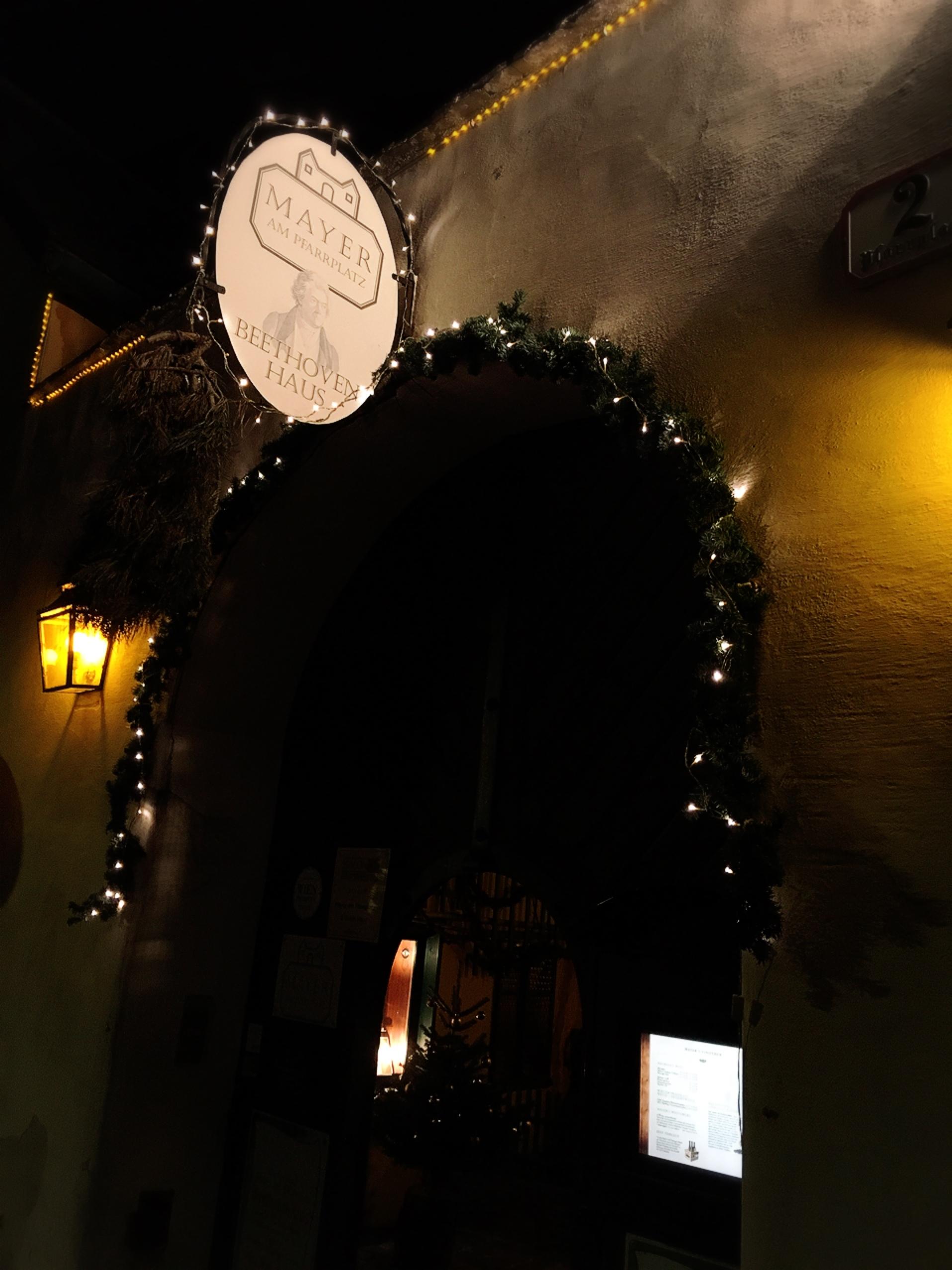 クリスマス時期のホイリゲへ☺︎_1_3