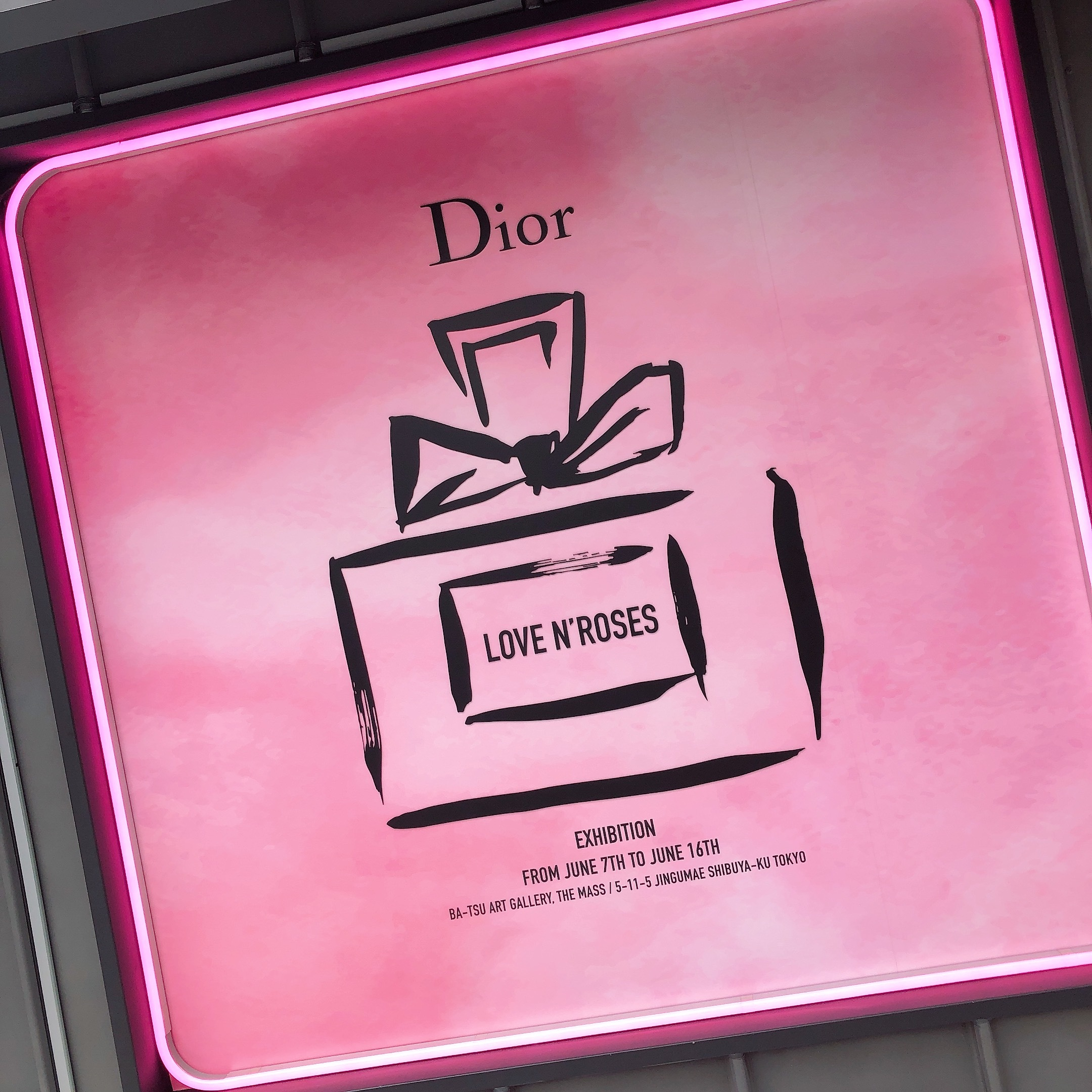 【入場無料!Dior展覧会】限定ポーチGET!限定コスメの発売も♡_1_1