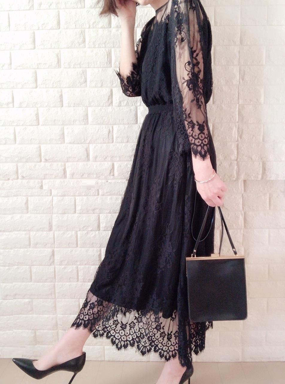 ロペピクニックのドレス着画
