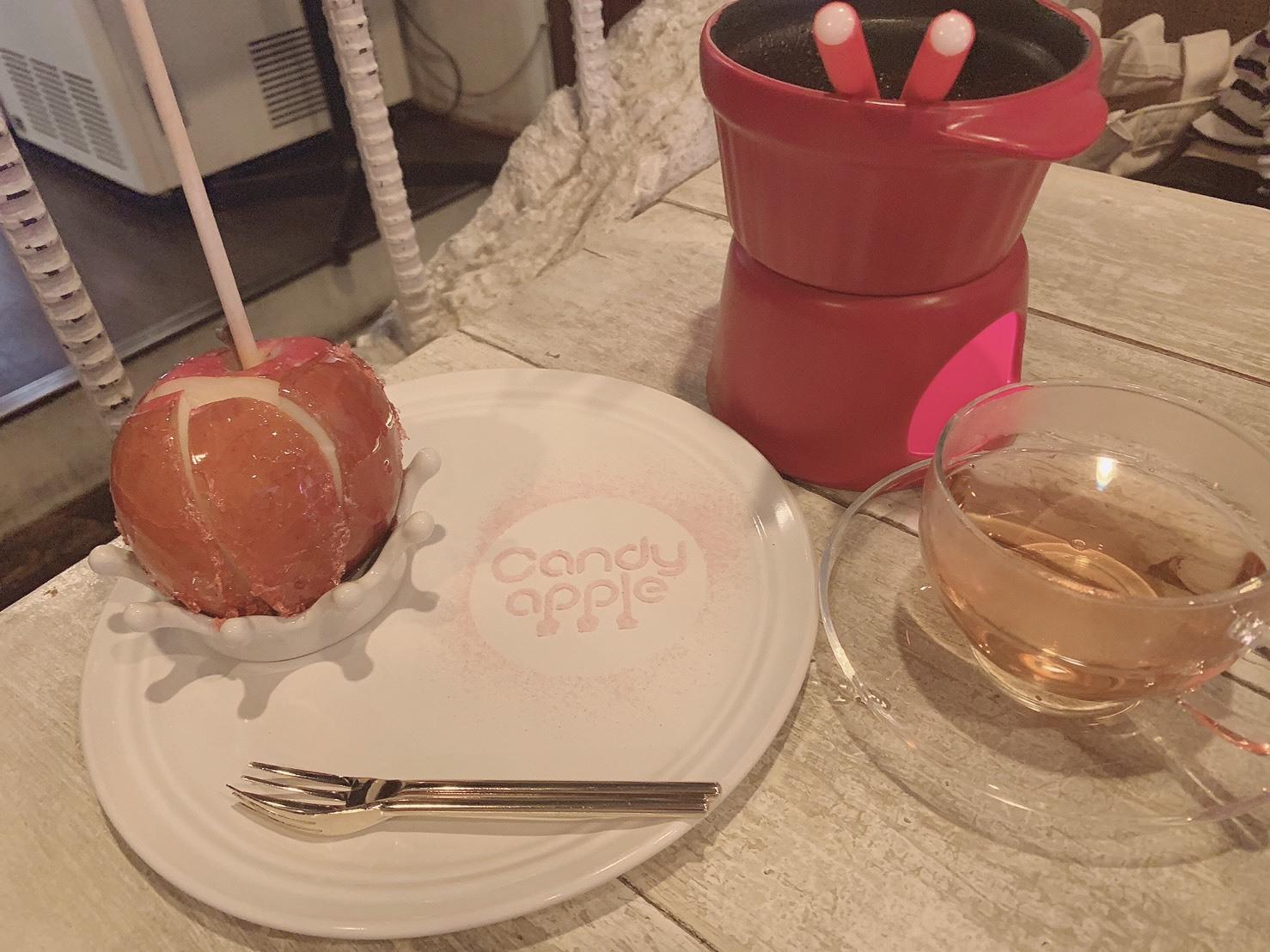 レストランで食べるりんご飴?!?! _1_3