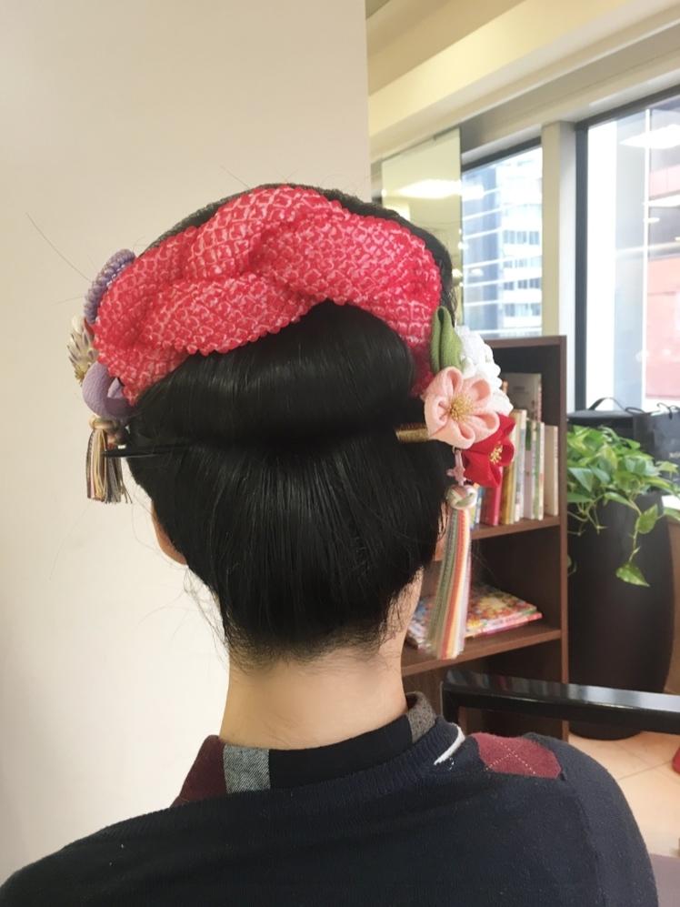 成人式の髪型紹介♡前撮りは伊勢丹写真館で_1_3-1