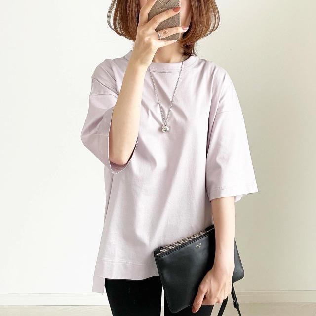 『ユニクロ+J』再販で買えた!幻のTシャツ【tomomiyuコーデ】_1_5